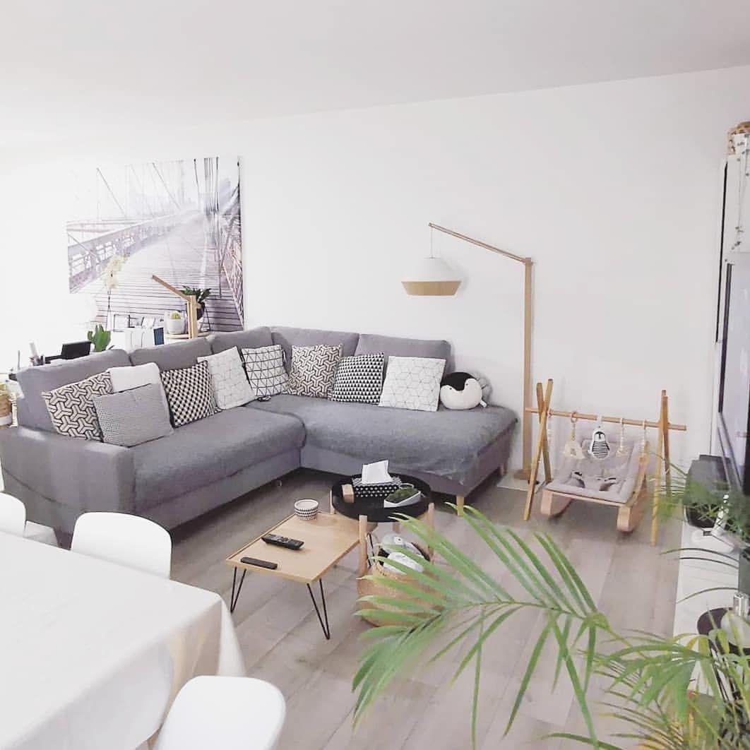 Canapé d\'angle fixe L SCANDI | BOBOCHIC ...