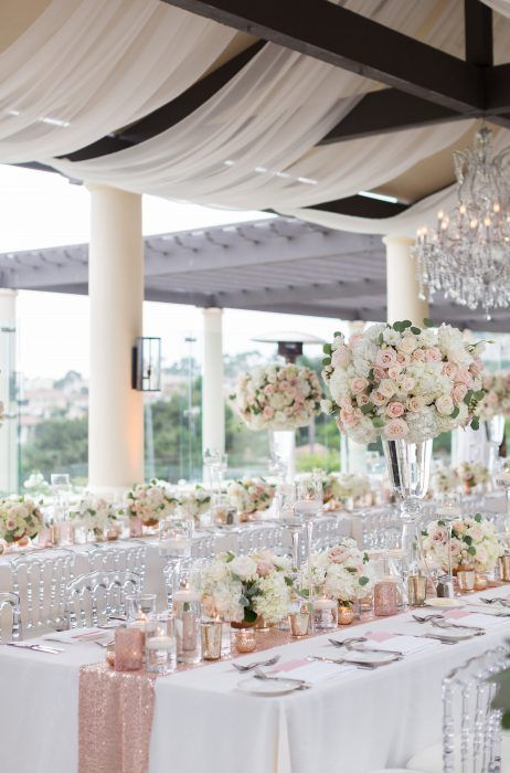 AN INTERTWINED EVENT: GLITTERY PINK WEDDING AT MONARCH BEACH RESORT | Intertwined Weddings & Events