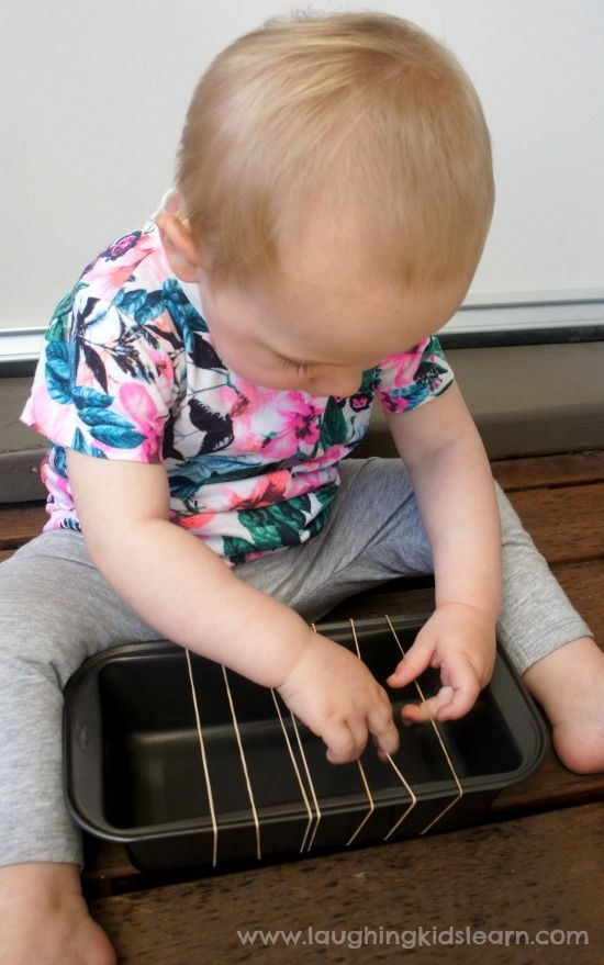 homemade baby guitar instrument using rubber bands homemade baby