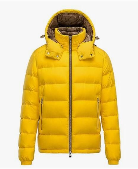 moncler man YELLOW