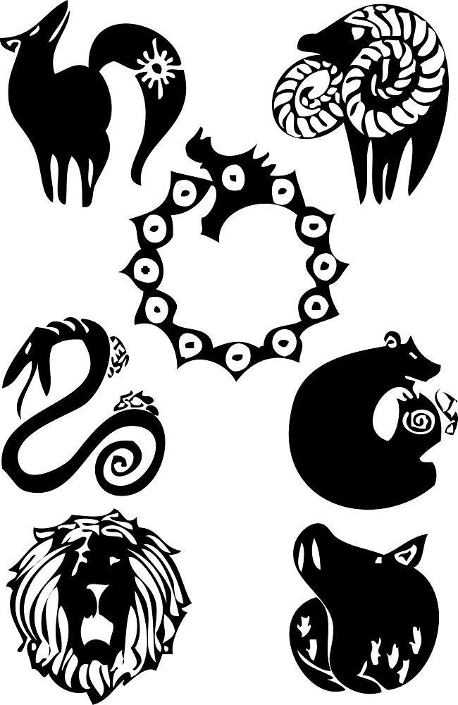 'seven deadly sins' by Toropix