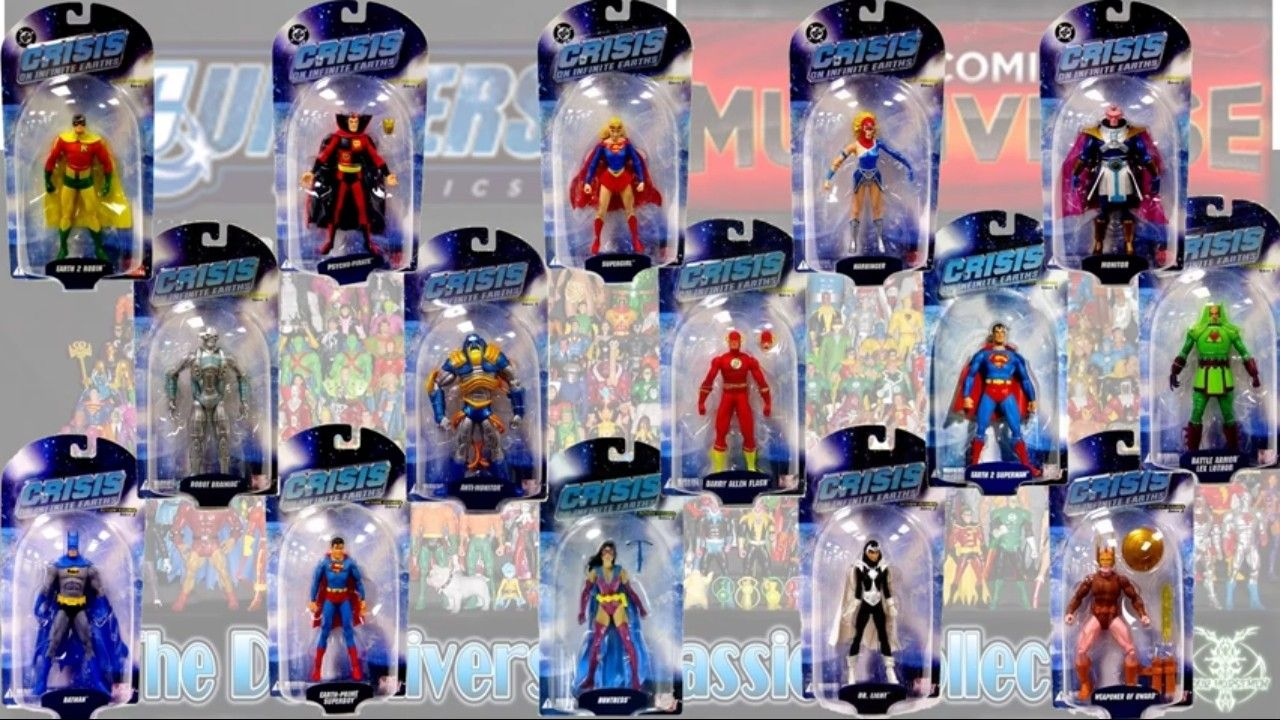 DC Direct Crisis On Infinite Earths Monitor Series 1 MOC Action Figure