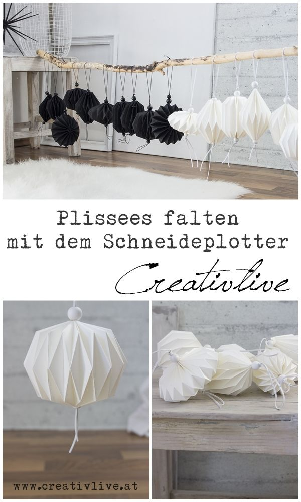 Photo of Plissees falten mit der Silhouette Cameo Teil 2 – CreativLIVE