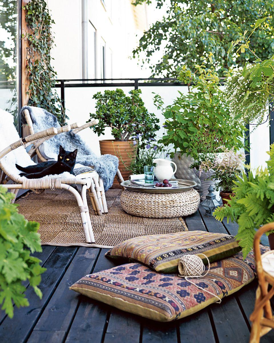 Des idées déco pour votre balcon | little terasse | Pinterest ...