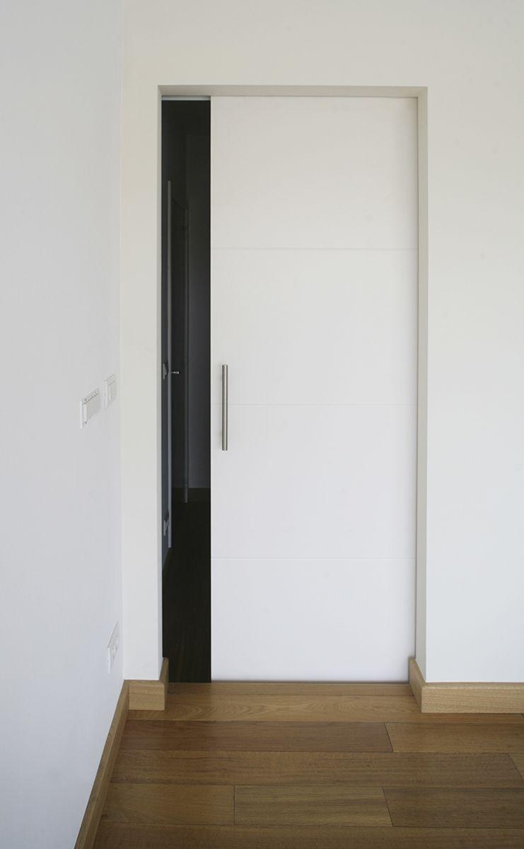 Porte Coulissante Prépeinte 83 Cm + Système à Galandage Integra Soft    CASTORAMA | Vos Mentions Ju0027aime Sur Pinterest | Pinterest | Doors, Bedrooms  And ...
