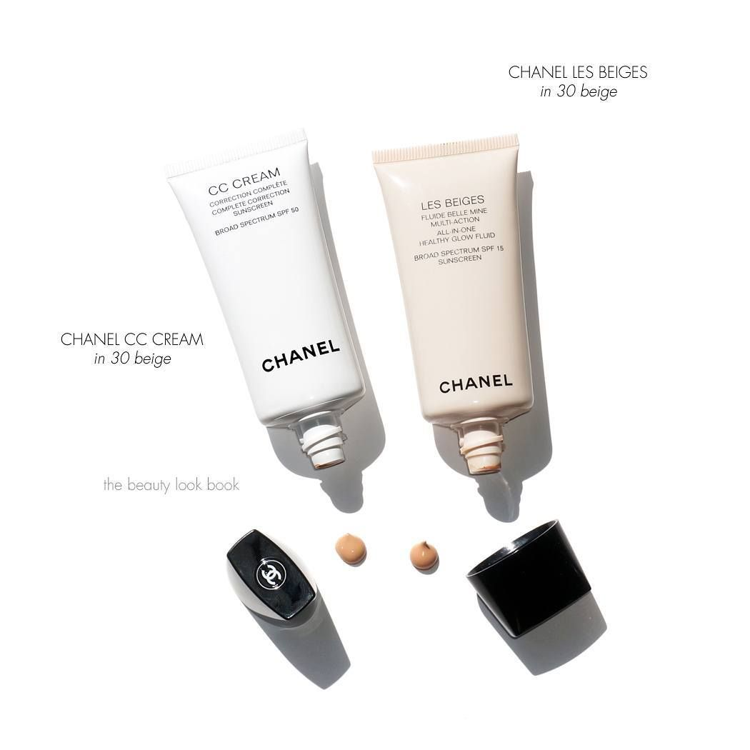 "7174bb1f07 DVB'eauty on Instagram: ""Chanel CC Cream - 750K Chanel Les Beiges ..."