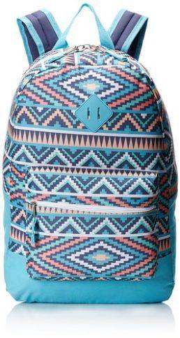 Anafa تريل ميكر حقيبة ظهر فاشن للبنات لون أزرق تركواز للبيع في السعودية جدة الرياض افضل سعر مراجعة و تقييم سو Backpacks Girls Prints Fashion Backpack