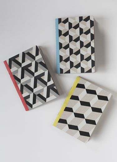 3 A6 Notebook by Papier Tigre