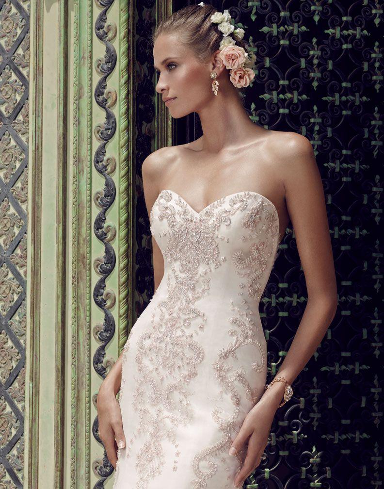 Casablanca Bridal 2189 | Yetta\'s Wedding | Pinterest | Casablanca ...