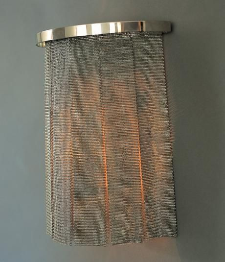chainmail wall light. I\'d like this in a matching skirt. | Interior ...