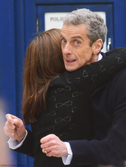 Peter Capaldi Sowhy Is The Doctor Wearing A Wedding Ring
