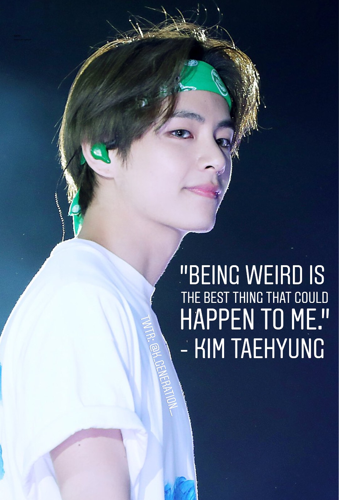 Bts Taehyung Quotes