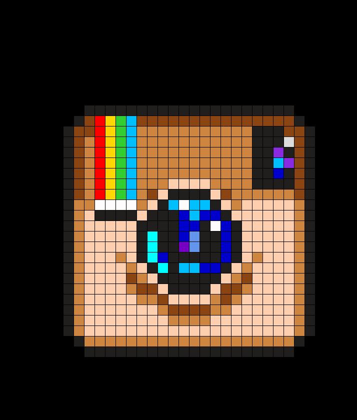 Instagram Logo Perler Bead Pattern Pixel Art Pattern Pixel
