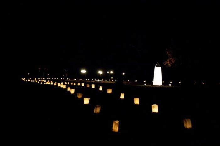 The Historic Candlelight Walk Along The Trails Of Flower Park In Oklahoma Is Positively Magical