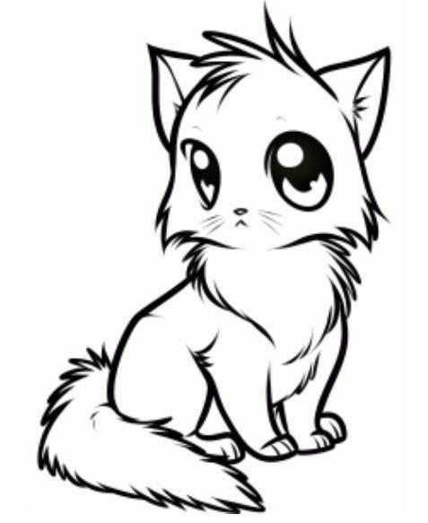 How To Draw Anime Cuqui Dibujos De Gatos Gatos Y Dibujos A Lápiz