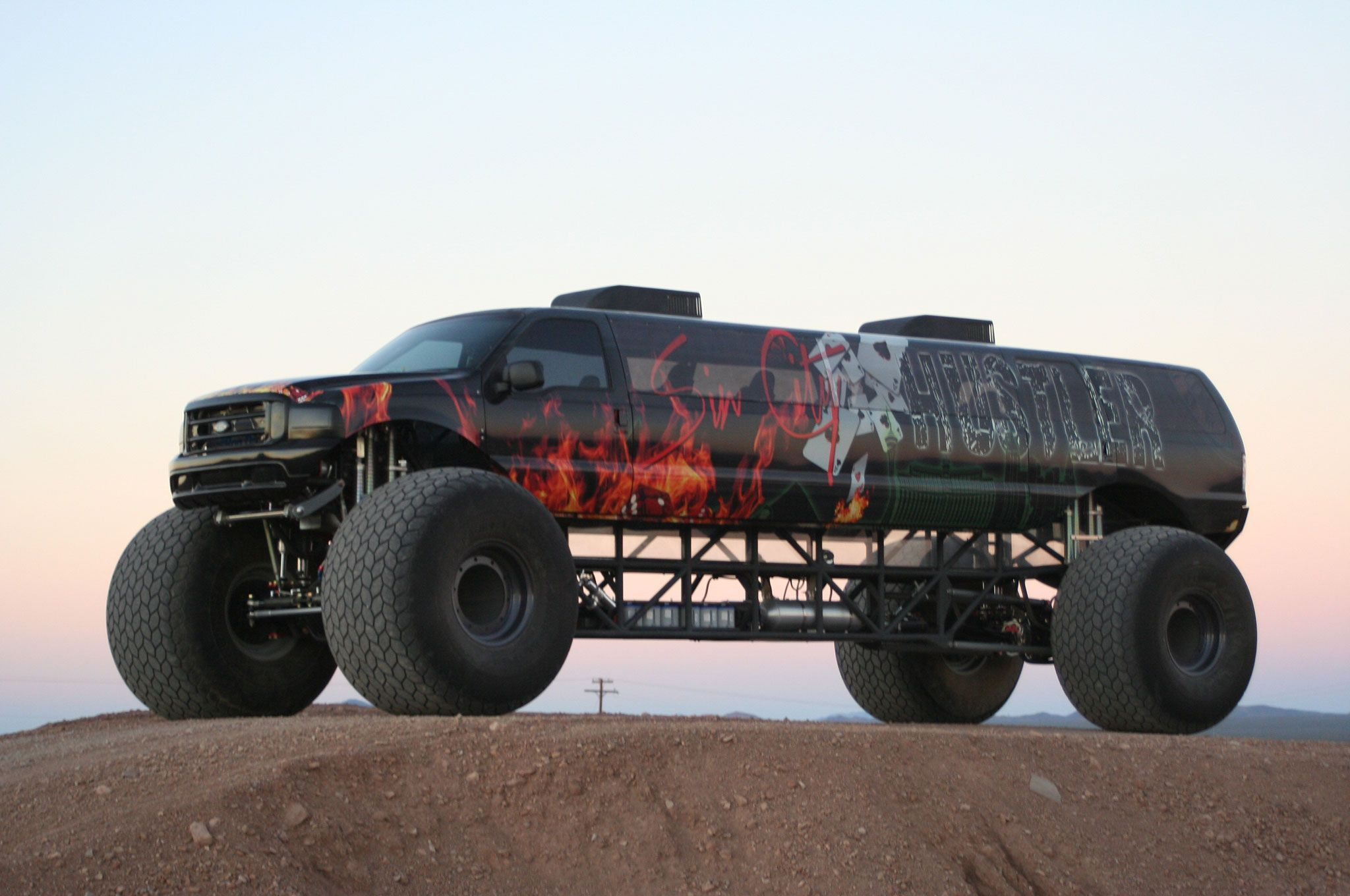 Big Toyz Racing Motors Latest Creation The Sin City Hustler