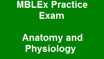 37 MBLEx Practice Exam Free Online Questions on Anatomy and