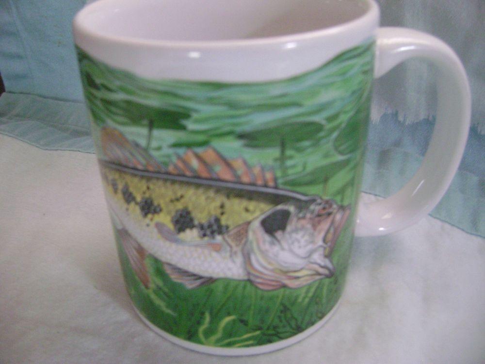 Otagiri Mug Cup Bass Fish Tea Coffee Collectible Japan Advantage Collection Mugs Mug Cup Unique Coffee Mugs