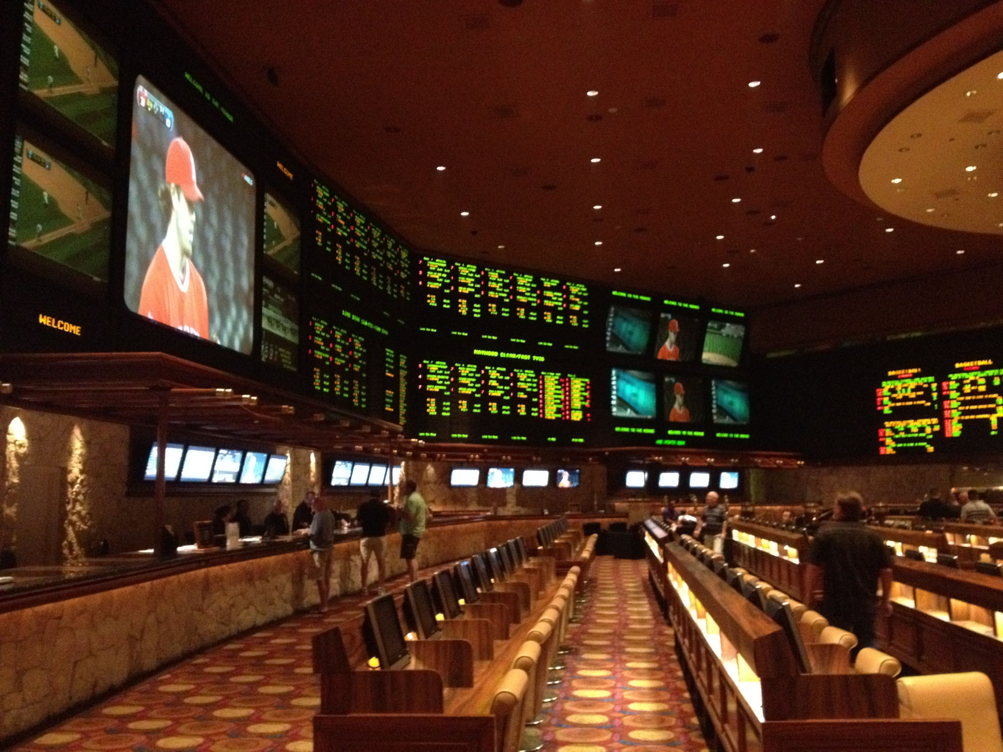 Mirage Race And Sports Book