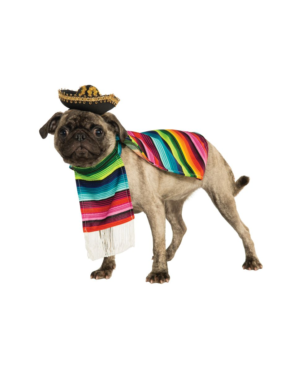 Mexican Poncho and Sombrero Costume at Spirit Halloween - Hola ...