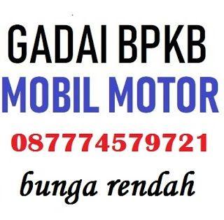 Pinjaman jaminan bpkb mobil bunga rendah | Motor
