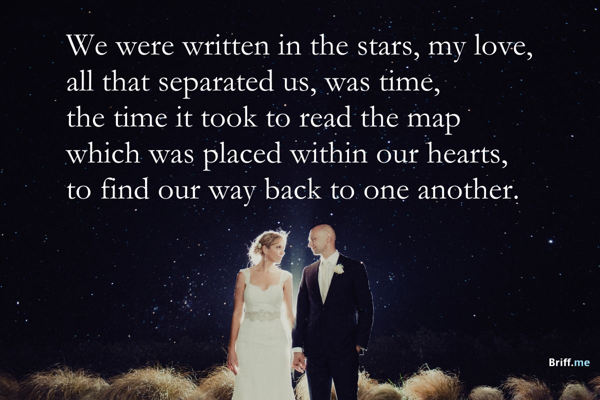 Best Wedding Quotes Stars and Love Best wedding quotes