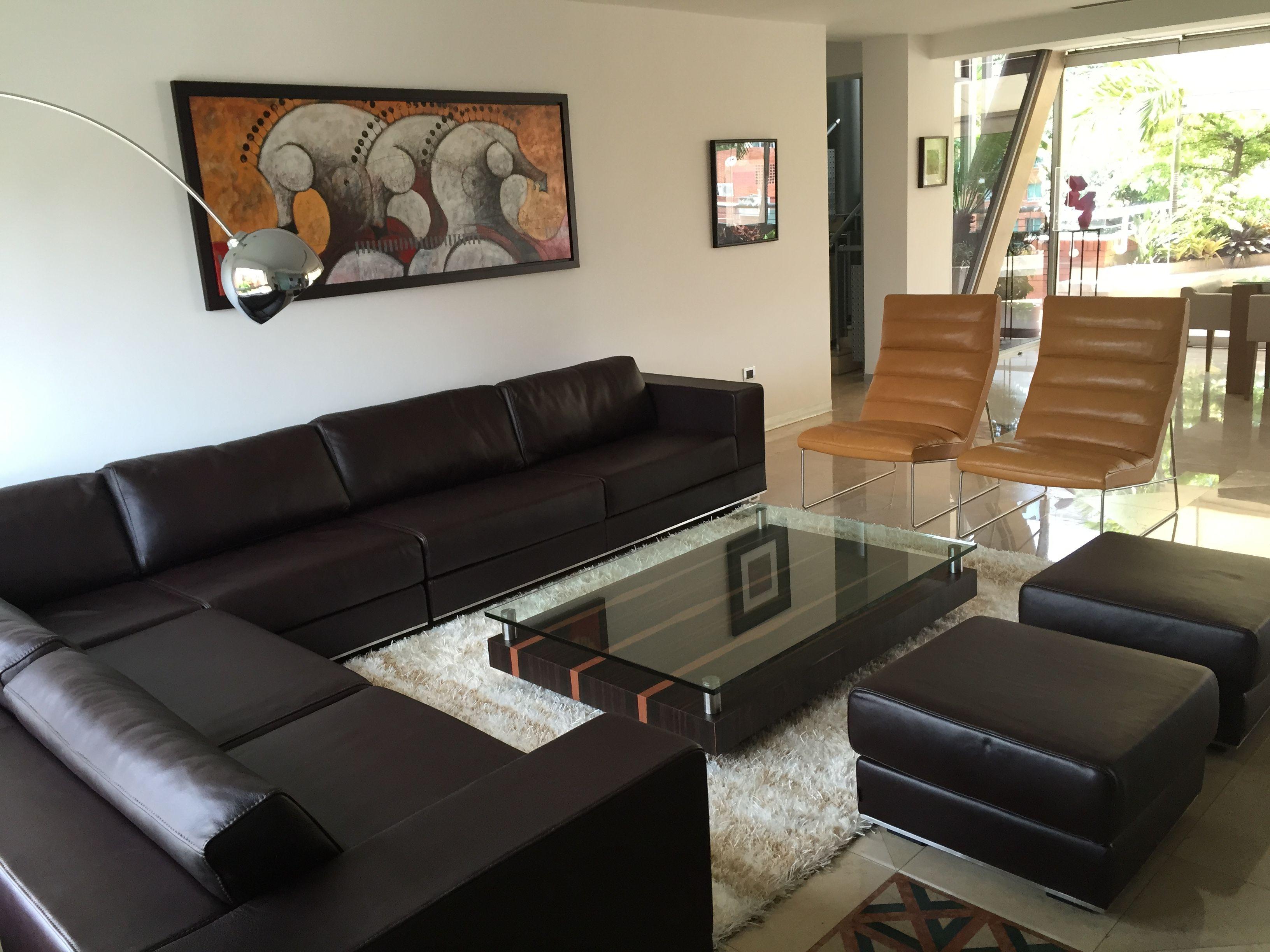El Hermoso Sof Modelo Prana Se Adapt Perfectamente A Este  # Muebles Zientte