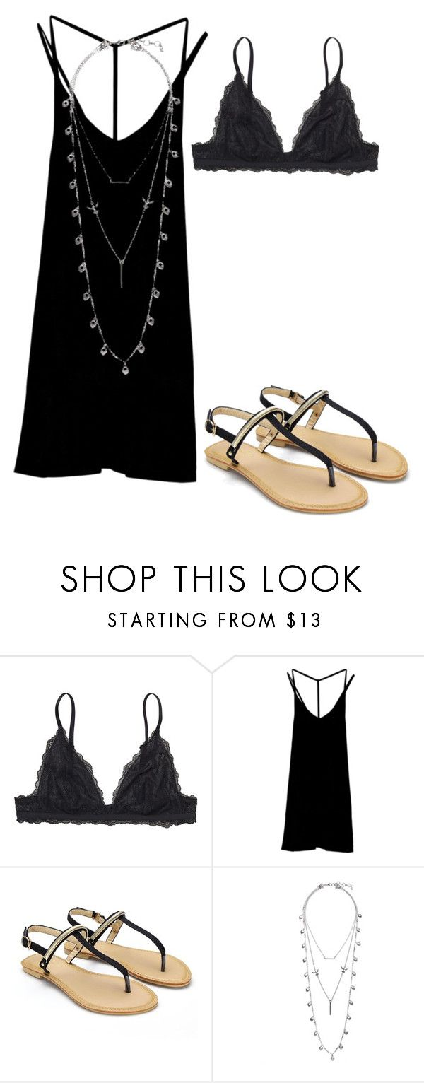 """""""Favor"""" by koks-500 ❤ liked on Polyvore featuring Monki, RVCA and Lucky Brand"""
