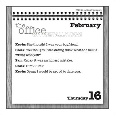 The Office Quote Of The Day Calendar How Great Would This Be Office Quotes Office Quote Of The Day Daily Quotes