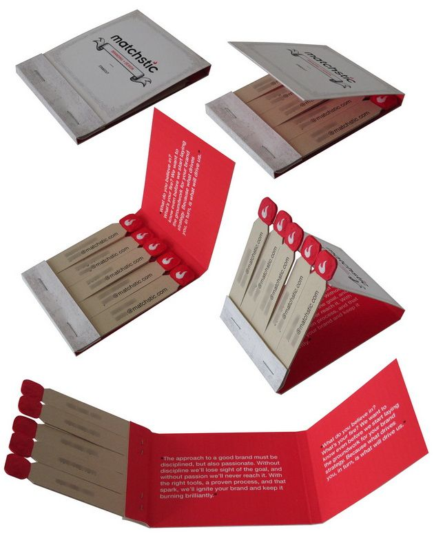 Matchbook business card printing finishing techniques matchbook business card colourmoves