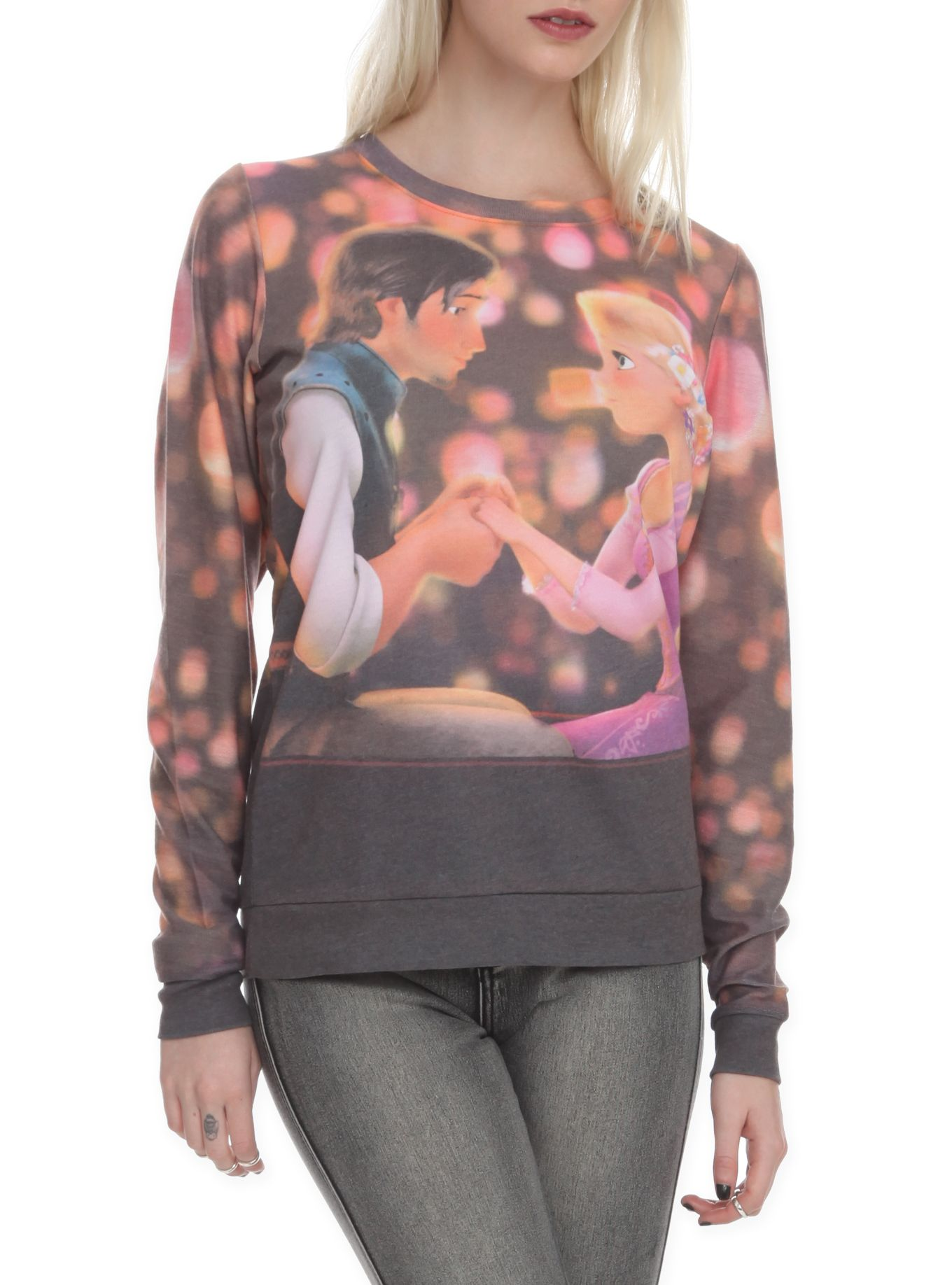 Disney Tangled Boat Girls Pullover Top | Hot Topic.  Definitely gonna get this one!!