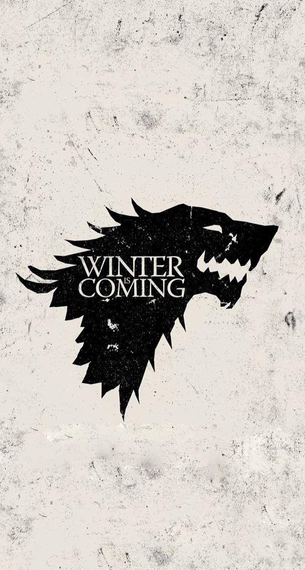 Got Stark Winter Is Coming Wallpaper Winter Is Coming Stark Game Of Thrones Poster