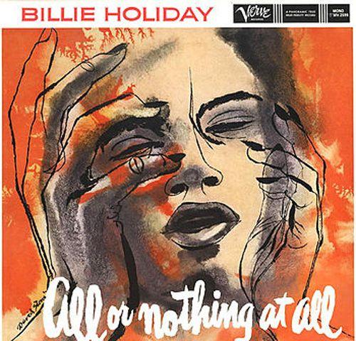 Billie Holiday Billie Holiday David Stone Album Cover Art