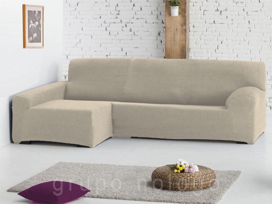 Funda sofá chaise longue ajustable Venecia se ajusta