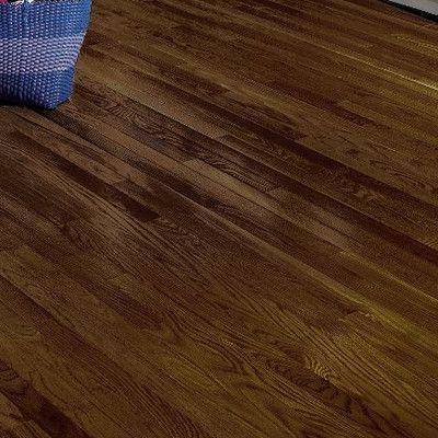 "Bruce Flooring Dundee 2-1/4"" Solid White Oak Hardwood Flooring in Mocha"