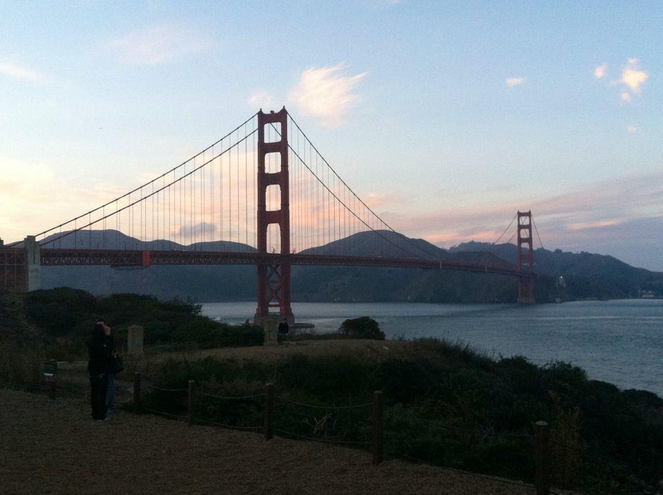 Good view of Golden Gate