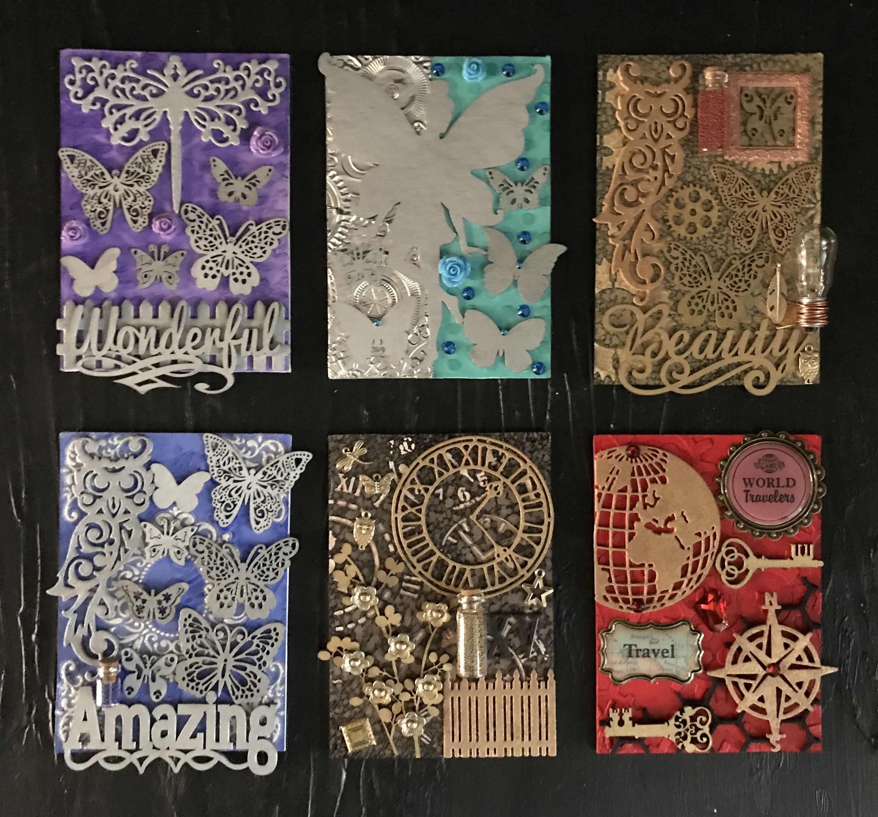Pin By Shawn Jern On Altered Playing Cards With Images Artist