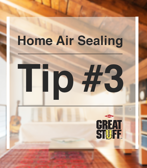 Home Air Sealing Tip 3 Seal the gaps and cracks in your