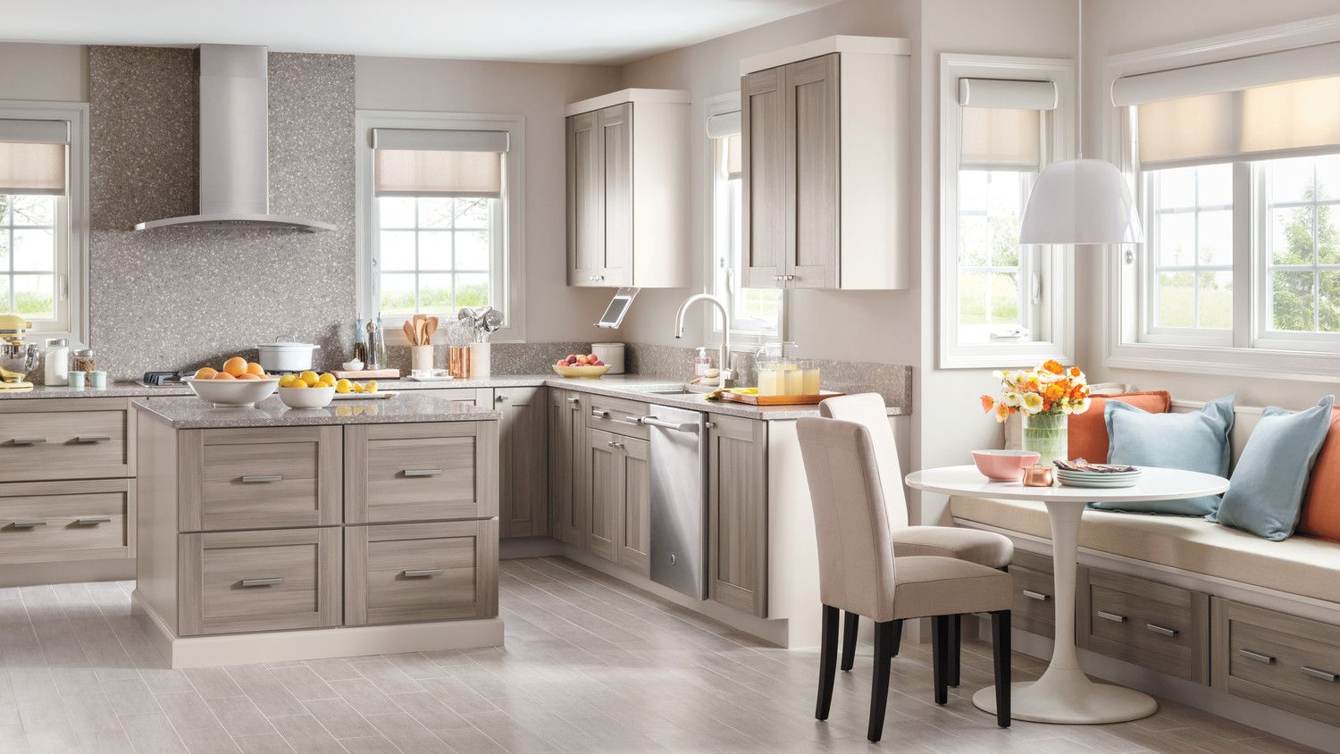 Introduces Textured Purestyle Kitchen Cabinets Kitchen Remodel