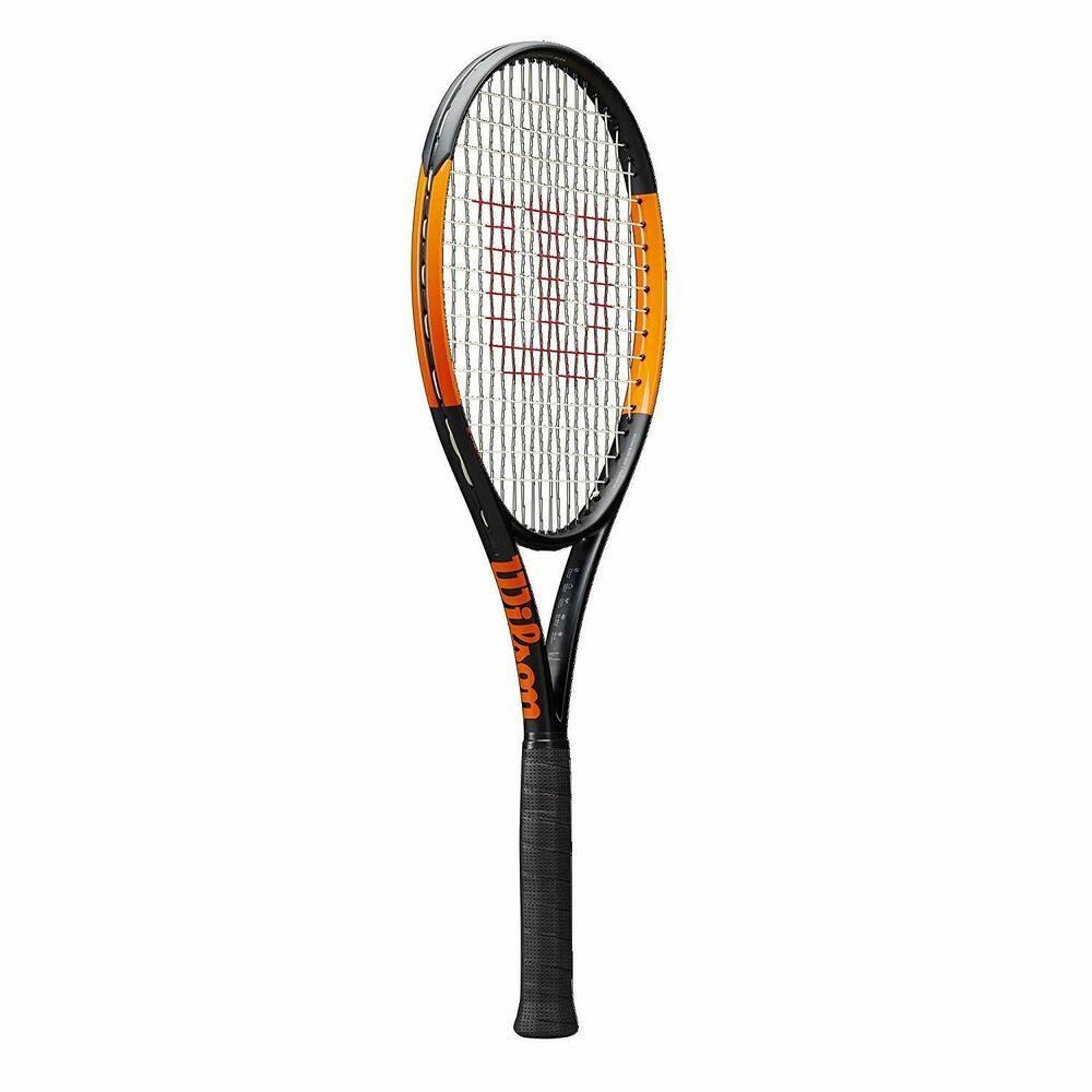 Wilson Wr000310u Burn 100uls Tennis Racket Grip Size 4 3 8 Wilson Tennis Racket Rackets Tennis