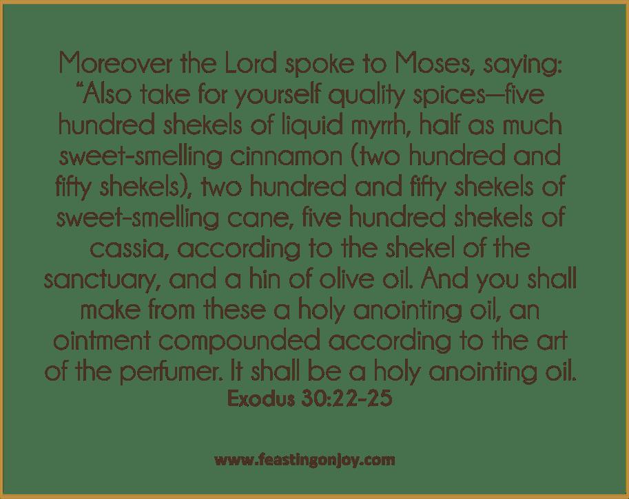 DIY Holy Anointing Oil | Joy, Holi, Diy
