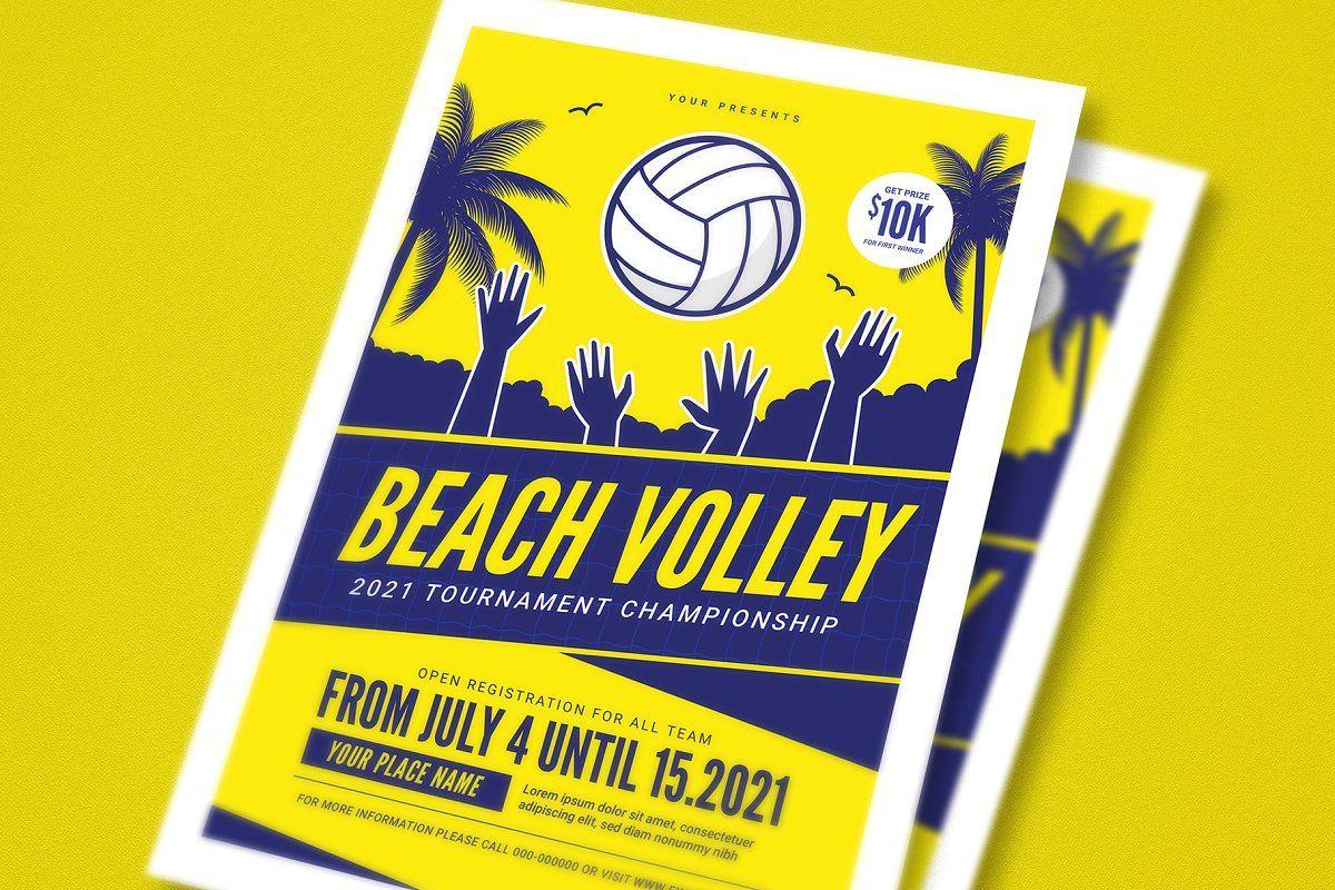 Beach Volleyball Tournament Flyer Volleyball Tournaments Beach Volleyball Tournaments