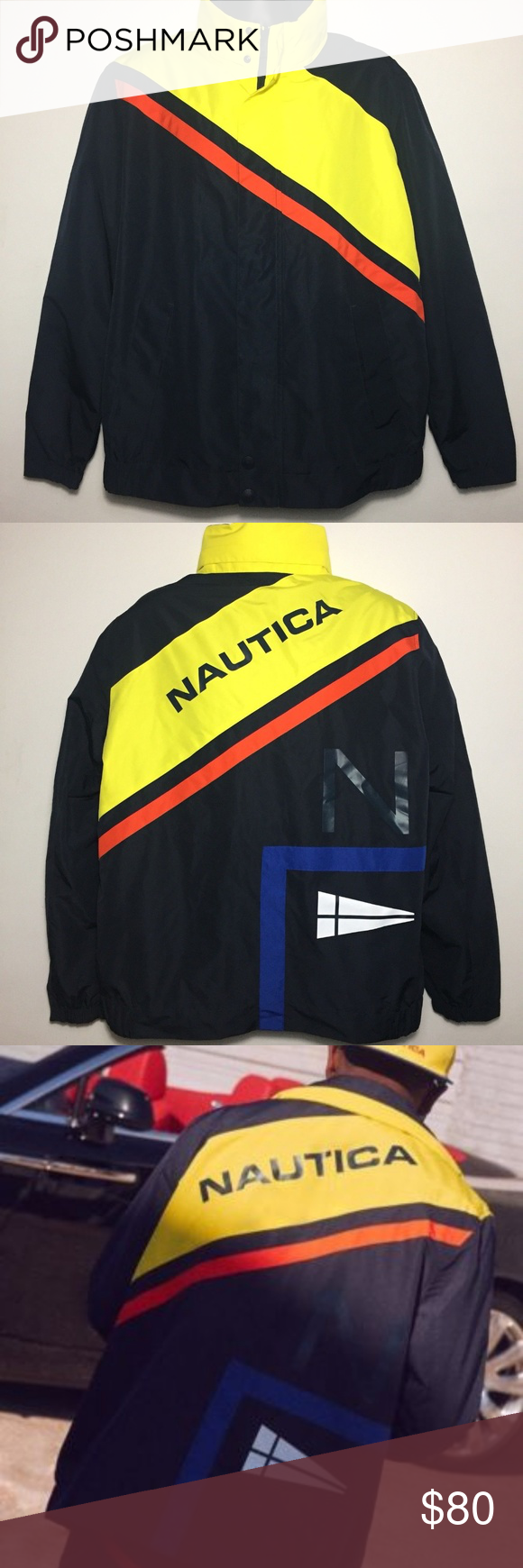 Nautica X Lil Yachty Vintage Collection Uo Jacket One Of A Kind Vintage Lil Yatchy X Urban Outfitters Hood Urban Outfitters Jacket Jackets Vintage Collection