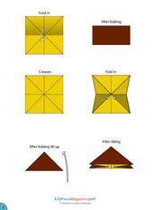 Paper Airplane Instructions  Schoolboy  KidsPressMagazine  origami et papier en tout genre