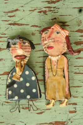 paper mache and other materials
