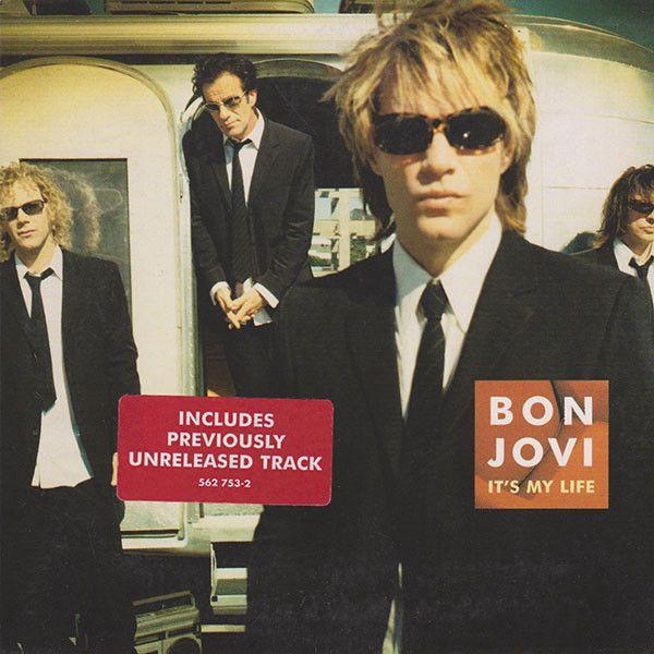 Bon Jovi – It's My Life (single cover art)