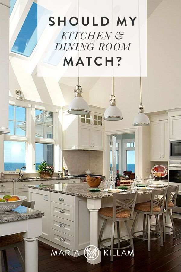 Should my Kitchen and Dining Room Match?   Colour Trends ...