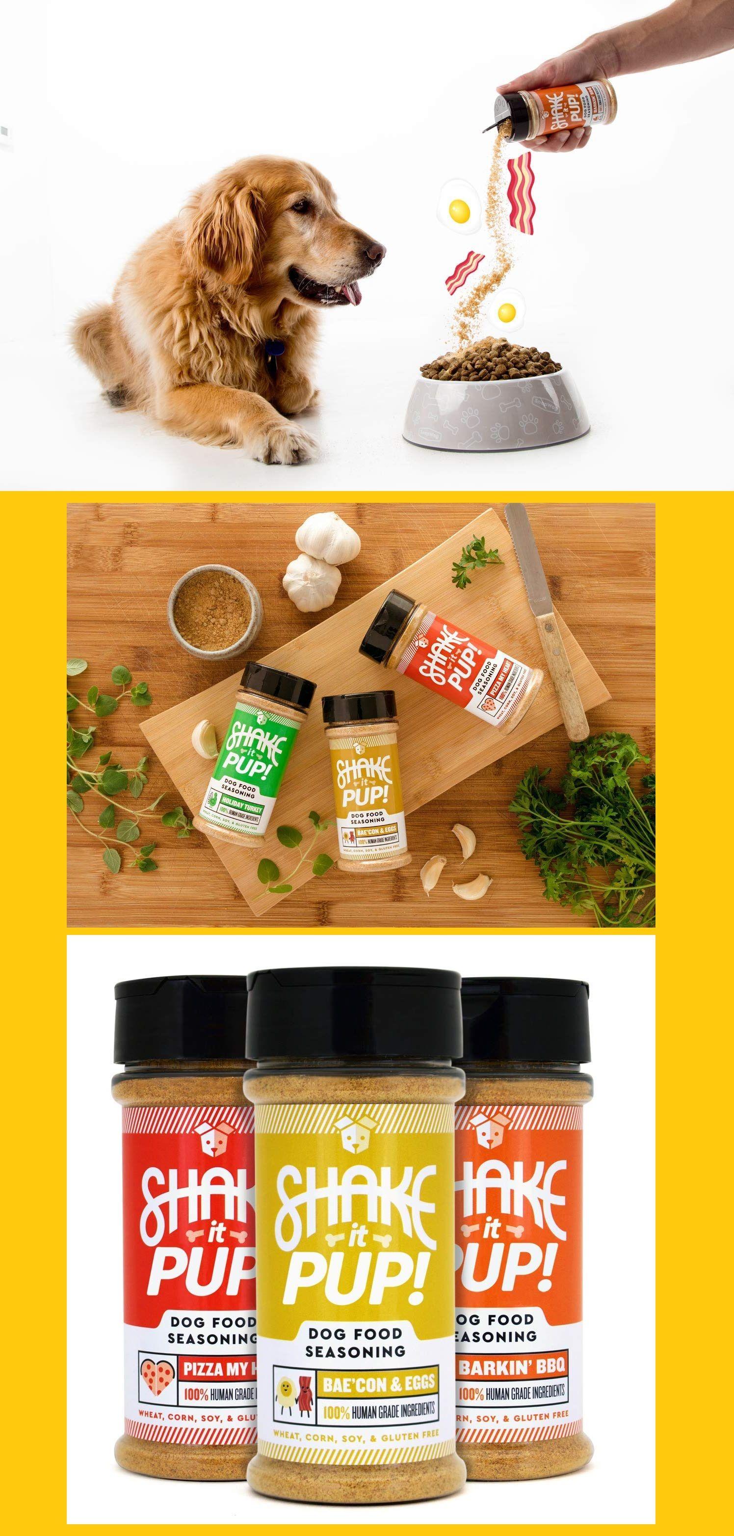 Shake it Pup! Dog Food Seasoning Natural, Human Grade