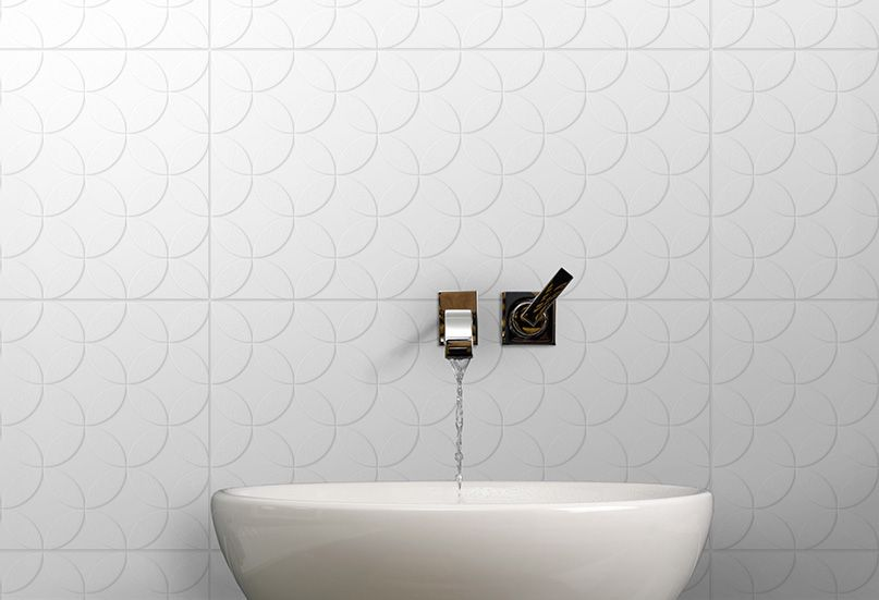 Centris in Milk  Infinity Tiles