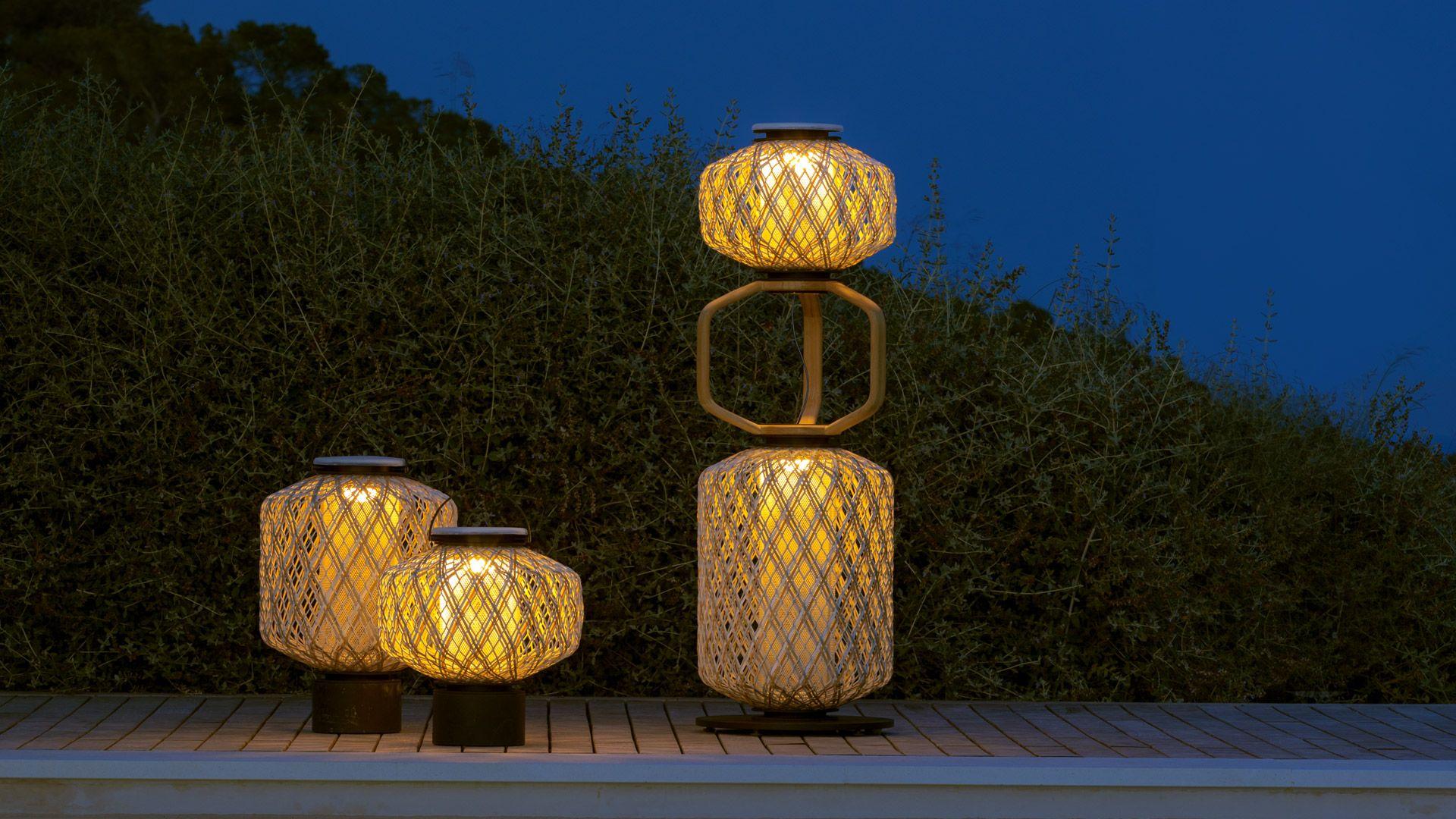 Dedon The Other Outdoor Lighting Modern Outdoor Lighting Modern Outdoor Lighting Fixtures Lantern Set